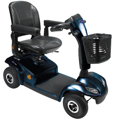 Scooter Leo 4 Wheeled Blue [Pkg-Hs-528-Bu4] - Think Mobility