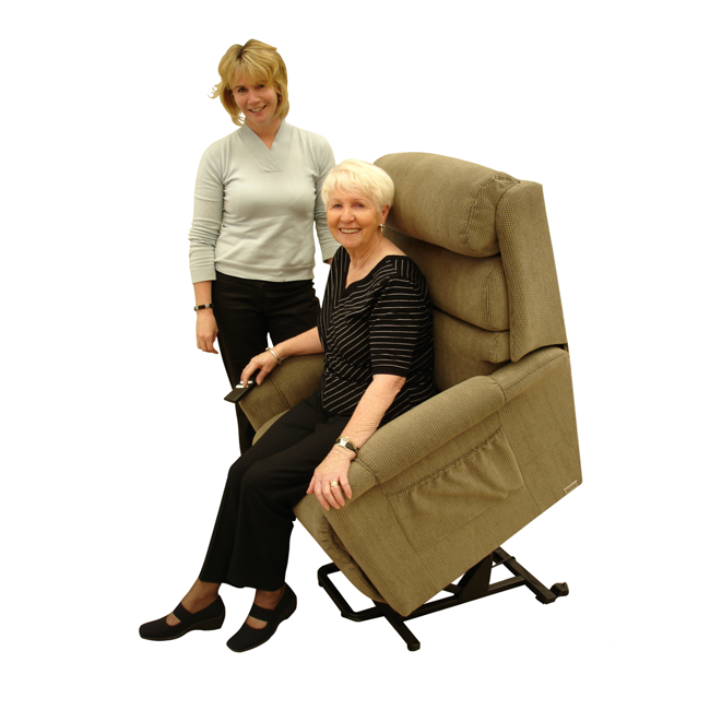 Lift Chair Topform Ashley 1 Motor Mini [Ashley - Mini 1M] - Think Mobility