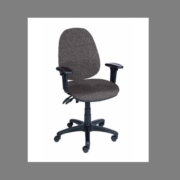Marlow High Back Clerical W/arm Chair  [Ofs-002-Hb-Stk] - Think Mobility