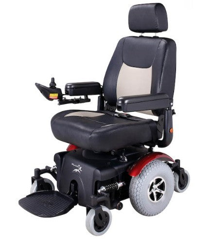 Power Wheelchair Merits Maverick 12 [P327A] (Batteries Not Included) - Think Mobility