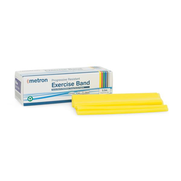 Exercise Band Metron 5.5M Yellow [Thametband6Yel] - Think Mobility