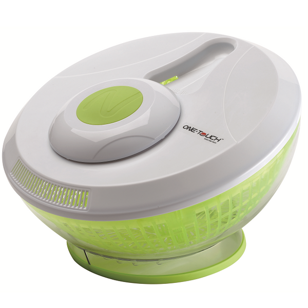 One Touch Automatic Salad Spinner [Kc67] - Think Mobility