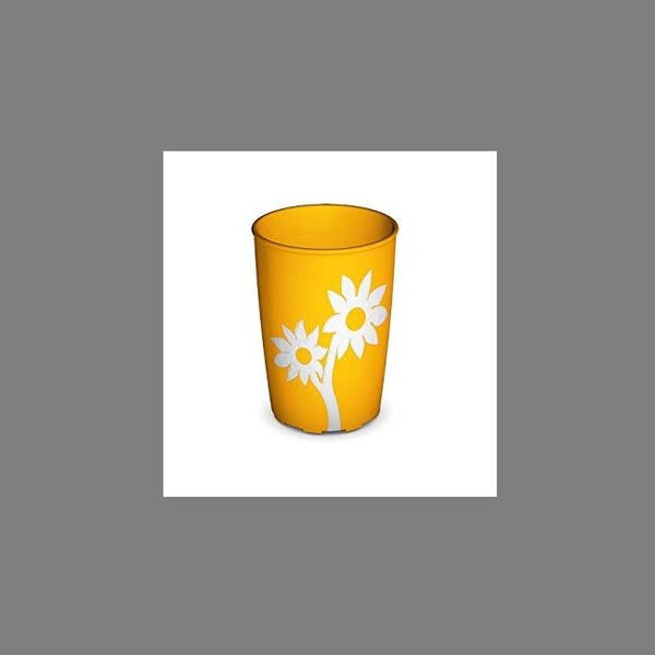 Ornamin Non Slip Cup Flower Yellow/white [9486] - Think Mobility