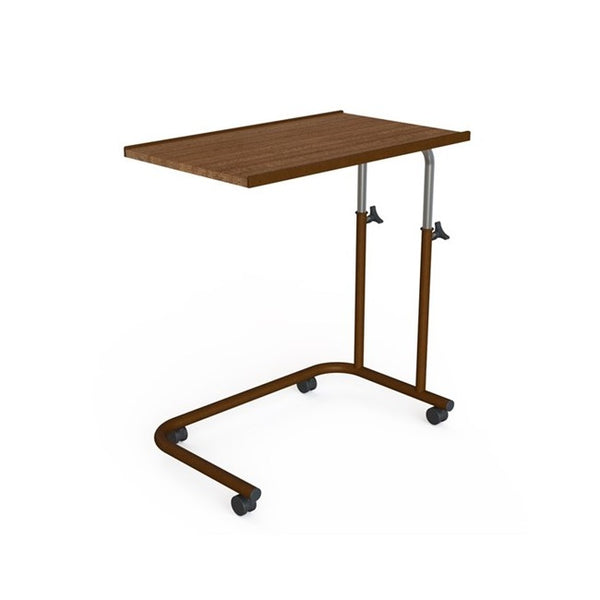 Over Bed Tilting Table U-Shape Base Woodgrain (Gst) [Ka570] - Think Mobility