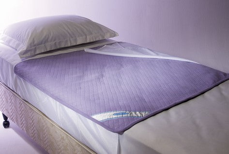 Bed Waterproof Pad With Wings 100Cm X 100Cm Chino House [Pd01C] - Think Mobility
