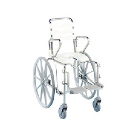 Shower Commode Paediatric Mobile Self Propelled [Ka12Src] - Think Mobility