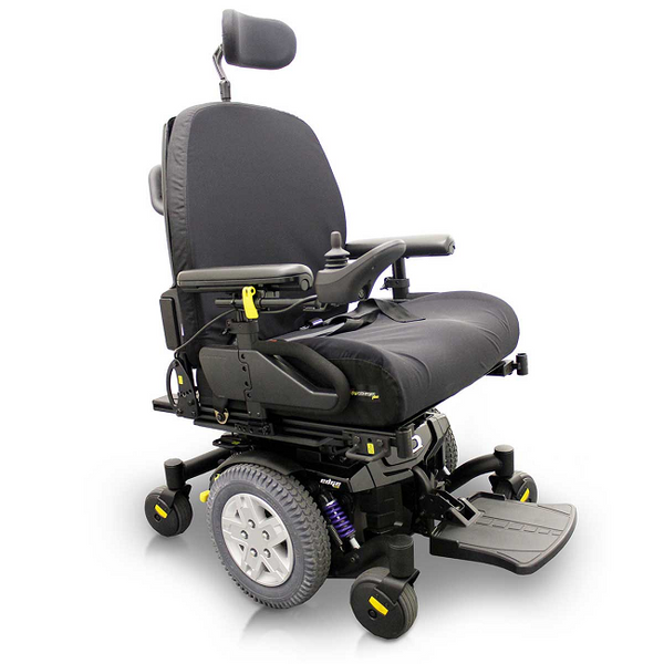 Pride Quantum Q6 Edge Hd Power Drive Wheelchair Swl 204Kg [Q6Edgehdqlsyn] - Think Mobility