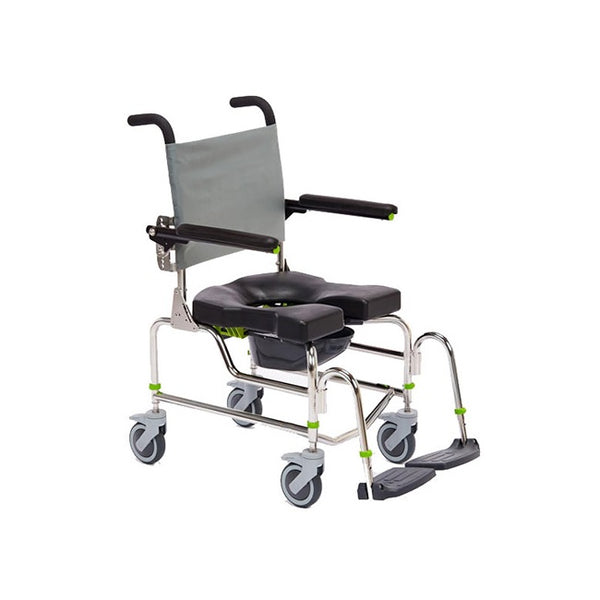 Raz-Ap Attendant Propel Mobile Shower Commode [Z100B] - Think Mobility