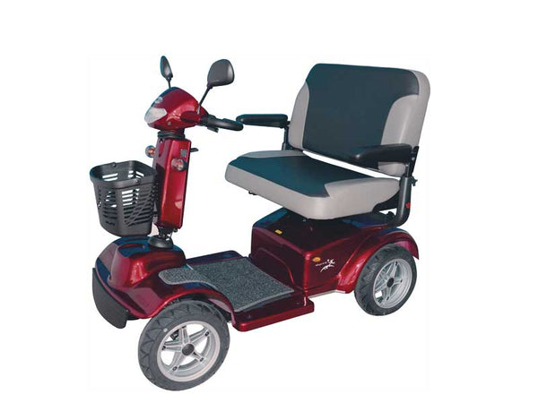 Scooter Merits Regal 344A Wide Seat Red [S344A-Ds-Ar] - Think Mobility