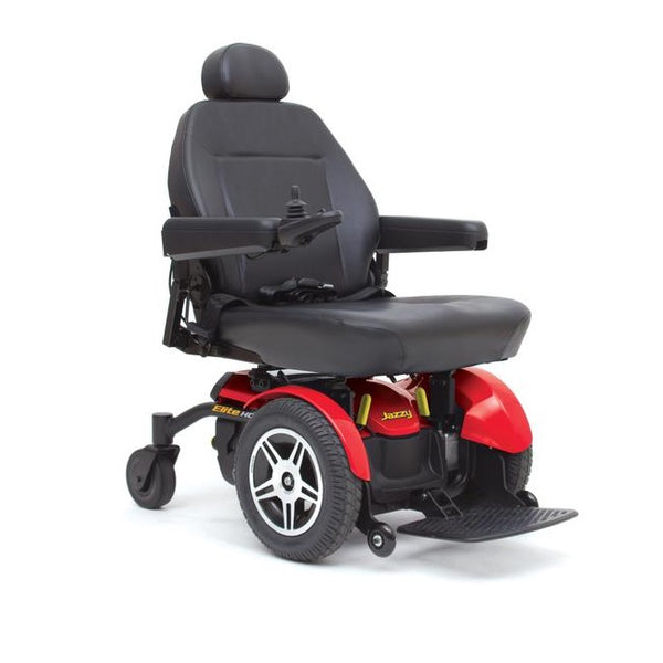 Jazzy Select Elite Hd - Red [Selectelitehd-R] - Think Mobility