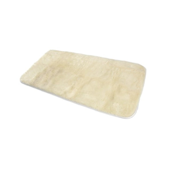 Sheepskin Sheer Comfort Xd1900 Classic Overlay White [003111] - Think Mobility