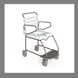 Shower Commode Kcare Attendant Propelled Weight Bearing Footrest [Ka113S] - Think Mobility