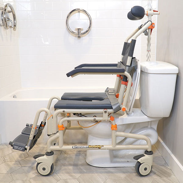 Shower Commode Shower Buddy Roll-In Buddy Tilt [Sb3T] - Think Mobility