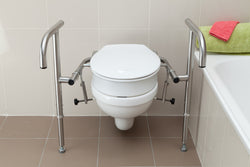 Toilet Spacer 80Mm With Bracket Throne Accessories [Sp80] - Think Mobility