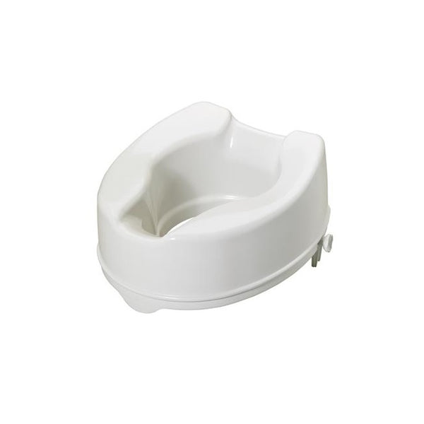 "Toilet Seat Raiser Savanah no lid 150Mm (6"") [Pat-Aa2116Y]"