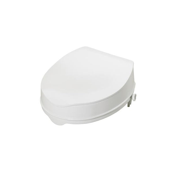 Toilet Seat Raiser Savanah with lid 100Mm (4) [Pat-Aa2114L] - Think Mobility