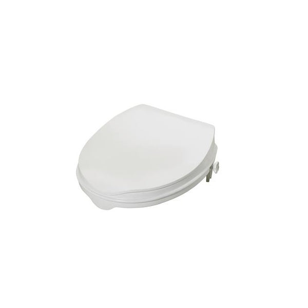 "Toilet Seat Raiser Savanah with lid 50Mm (2"") [Pat-Aa2112L] - Think Mobility"