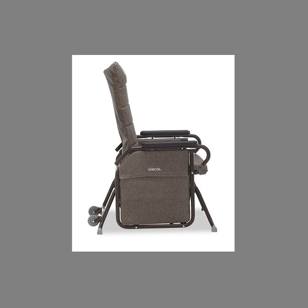 Broda Tranquille 100-20Al Auto-Locking Glider Tall Back Charcoal [100-20Al Charcoal] - Think Mobility