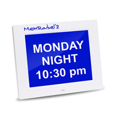 Clock Calendar Alarm Memrabel2 (V3.1) Audio Visual Orientation [Ttc-Memrabel2] - Think Mobility