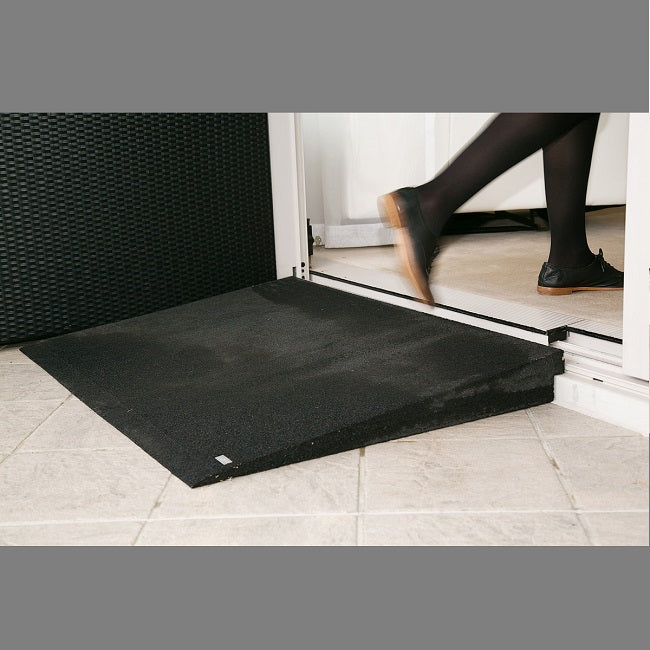Tyrex Ramps Gradient 18 - 15mm(H)X120mm(L)X900mm(W) [Ramp015Bk] - Think Mobility