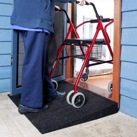 Tyrex Ramps - 1:10 65 Mm Height 650 Mm Length 900 Mm Width [Ramp10/065Bk] - Think Mobility