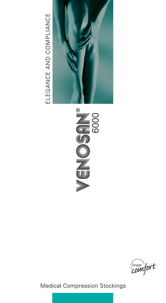 Venosan 6001 Below Knee A-D Medium Normal C/toe Beige
