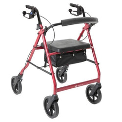 Walker Aspire Deluxe Red [Waf705750Re] - Think Mobility