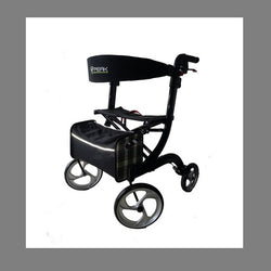 Walker Ellipse Lite Aluminium Black Large [Al-208S-37B/l] - Think Mobility