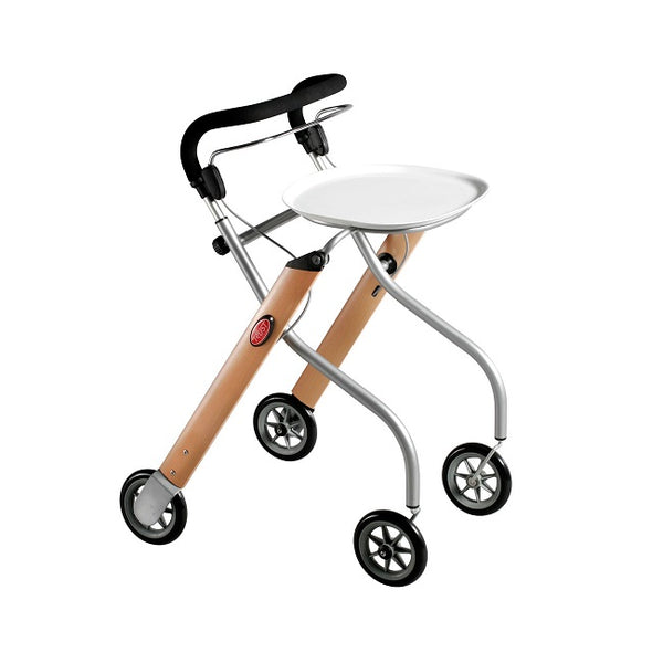 Walker Lets Go Indoor Trust Care Wood/beech (Inc. Tray & Bag) [0020] - Think Mobility