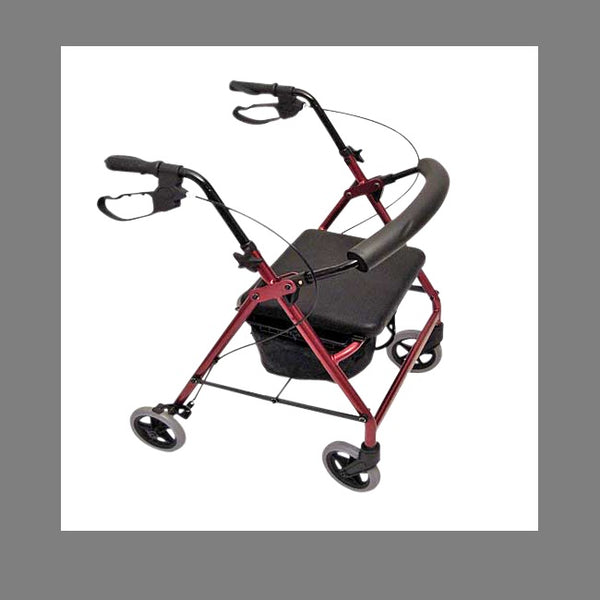 "Walker Peak Care Ellipse Standard 8"" Red [8187] - Think Mobility"
