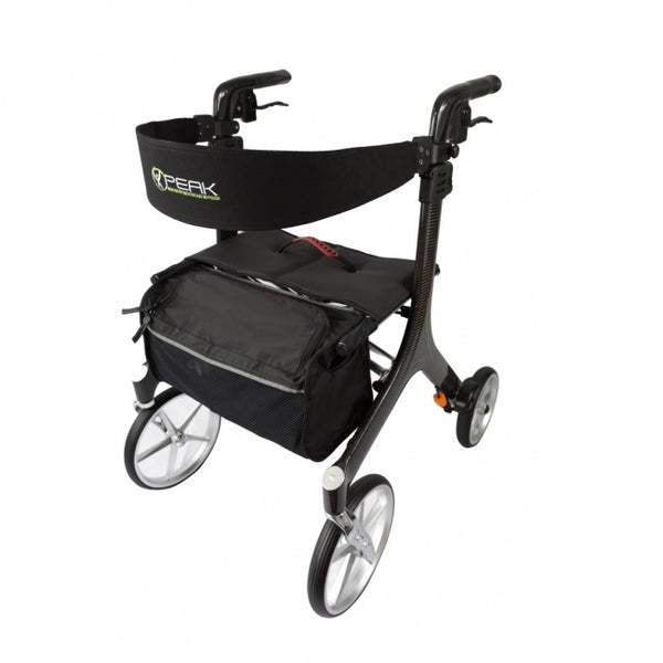Walker Peak Care Ellipse Superlite Carbon Fibre Blk/med [Al-208S-41B/m] - Think Mobility