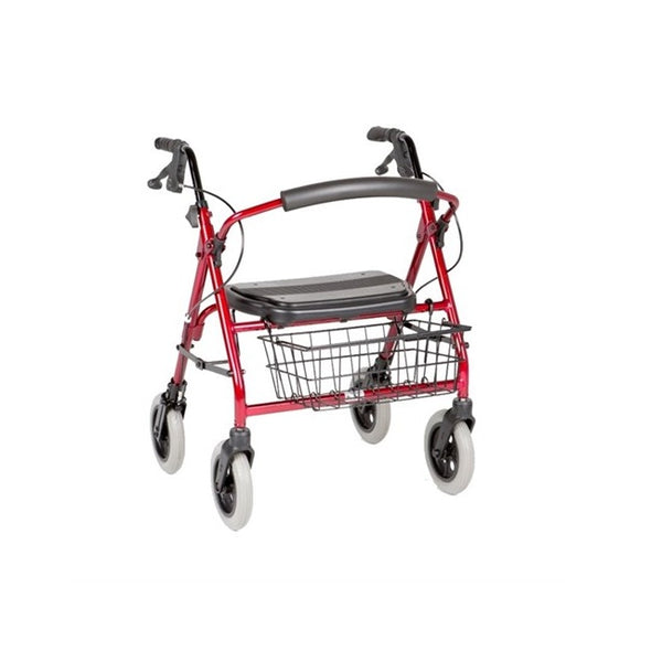 "Walker Peak Care Maxi Mack 8"" Red [C4205Cg] - Think Mobility"