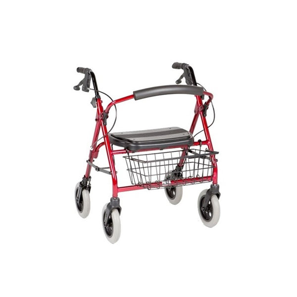 "Walker Peak Care Mini Mack 8"" Red [C4205C] - Think Mobility"