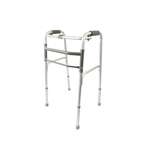 Walking Frame Folding Front With Tips [9346376060400] - Think Mobility