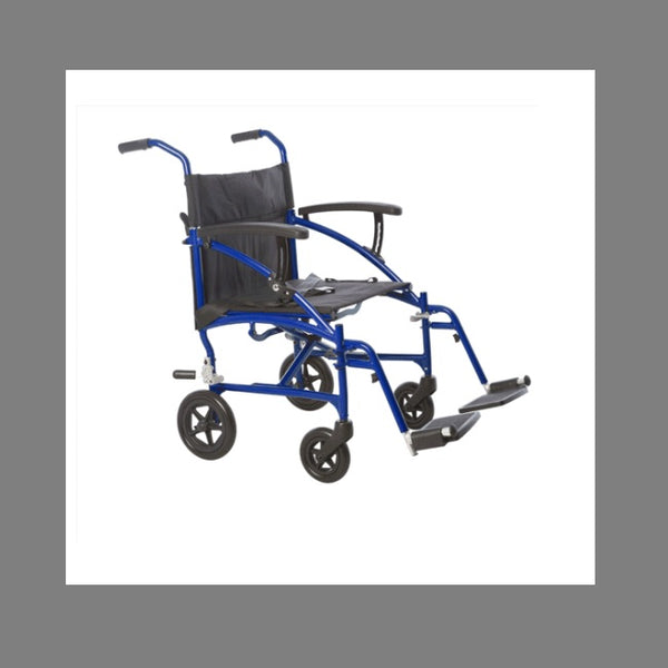 Wheelchair Aspire Lite Blue [Mws442300] - Think Mobility