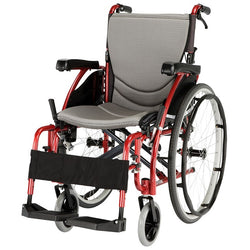 Wheelchair Karma S-Ergo 125 Self Propelled 18X17 [Km-S125-18] [Wckms125-18] - Think Mobility