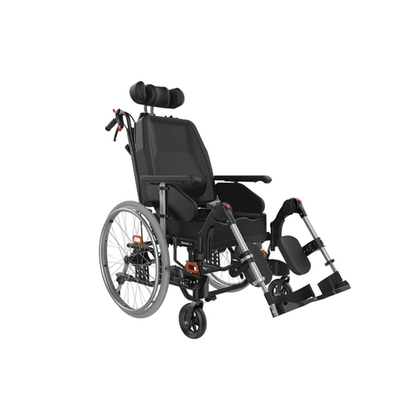 Wheelchair Tilt In Space Aspire Rehab Rx 51-56Cm Wide Black [Mws449740]  - Think Mobility
