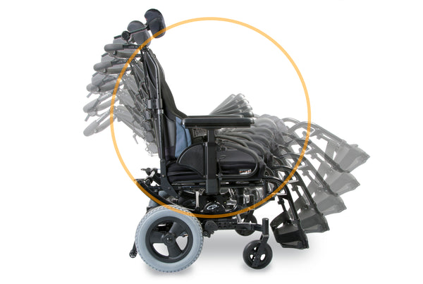 Wheelchair Quickie Sr45 Tilting
