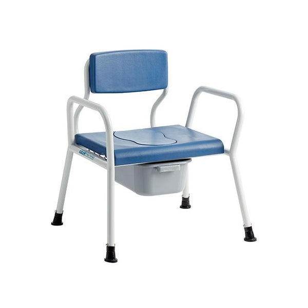 Xxl Rehab Clean Bedside Commode Wide 71Cm [0142-071-000] - Think Mobility