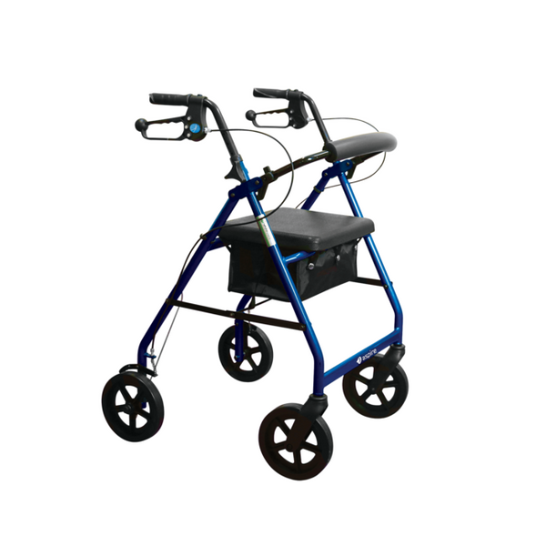 Aspire Classic 8 Seat Walker - Blue  [Waf705700Bl] - Think Mobility