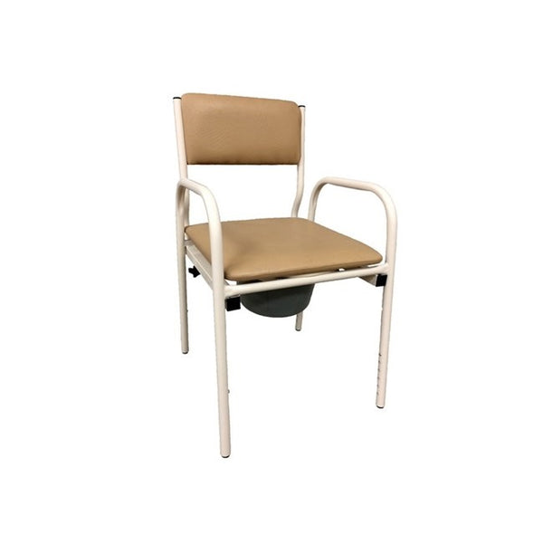 Bedside Commode Economy Fawn With Removable Seat R&r [12085] - Think Mobility