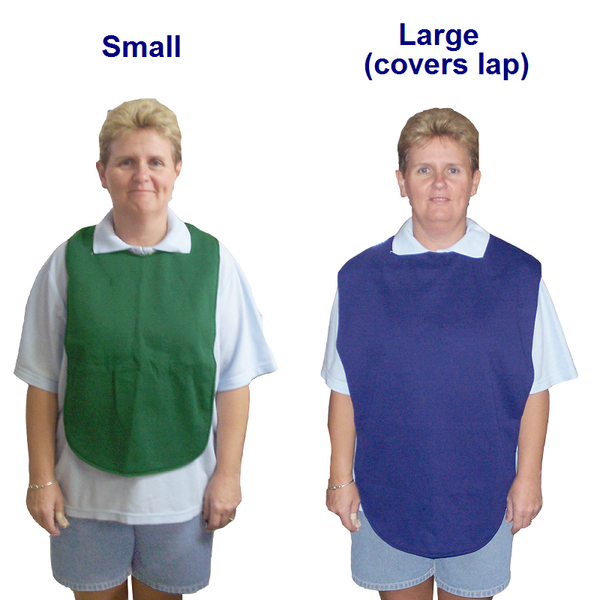 Small & large bib coverall
