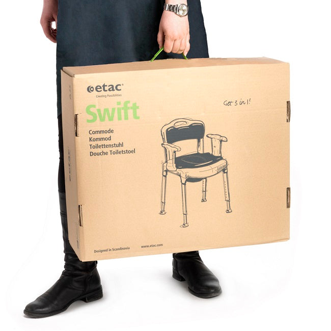 Etac Swift Commode [81702030] - Think Mobility