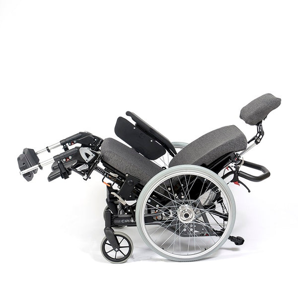 Breezy Cirrus G5 Tilt In Space Manual Wheelchair