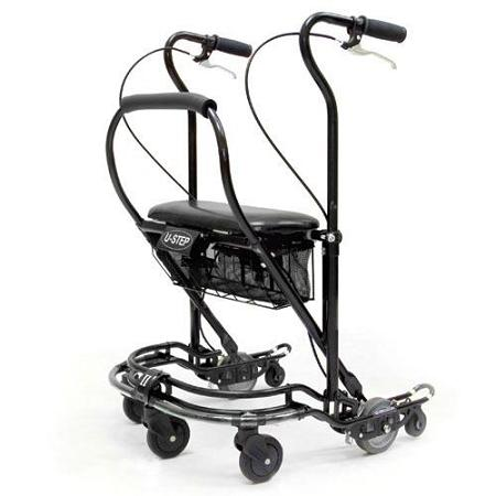 Walker Mobility Care U-Step2 Without Laser & Sound Cue Module [Us-Pc2-Bk] - Think Mobility
