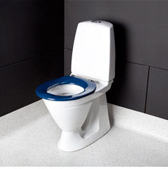 Dania Coloured Toilet Seat With Lid Blue [Ep-R37108B84] - Think Mobility