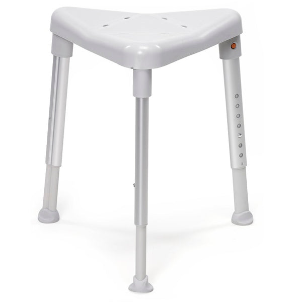 Etac Edge Shower Stool Triangle For Corner Grey [81801010] - Think Mobility