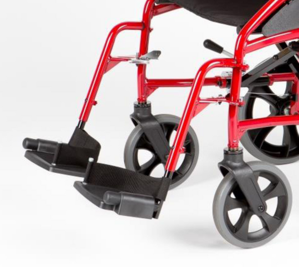 Legrest & Footplate For Left Hand Side - Venus Wheelchair [Bsw0301Ve3Rd] - Think Mobility