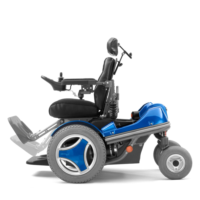 Permobil Koala Mini-Flex Power Wheelchair With R-Net Electronics [106680-99-0] - Think Mobility
