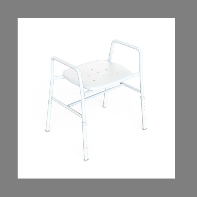 Hire Shower Stool Wide- Brisbane, Caboolture, Townsville, Mackay, Toowoomba - Think Mobility